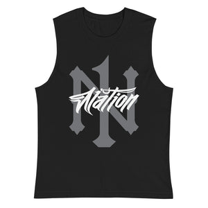 1N Nation Graff Muscle Shirt