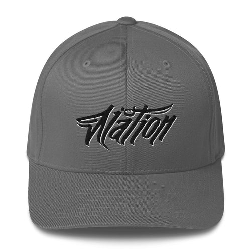Nation Grafiti Fitted Hat