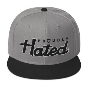 Proudly Hated 2-Tone Snapback Hat