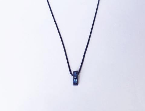 OSHI BLACK NECKLACE