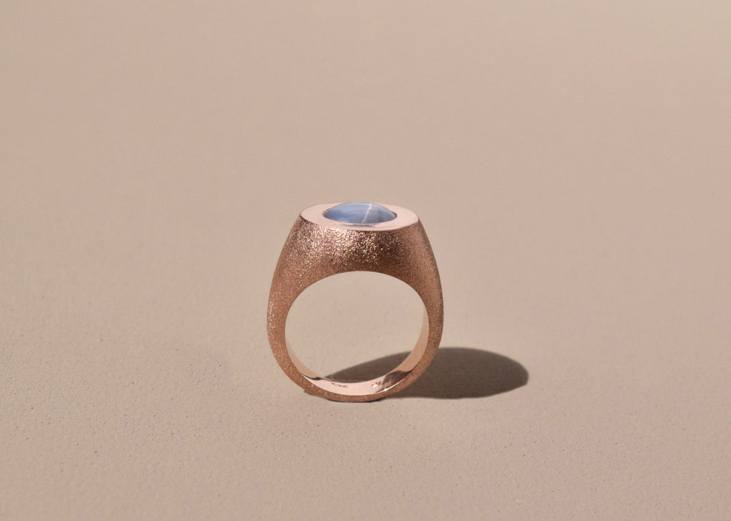 PHENOMENA RING ROSE/BLUE