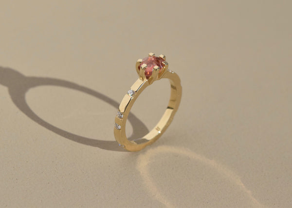 GOLDEN CLOUD RING