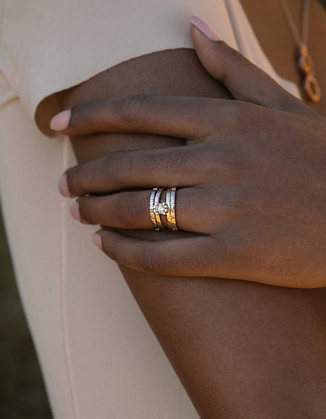 SUNLIGHT ROSE GOLD RING