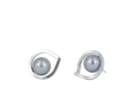 KADOYA EARRINGS SILVER