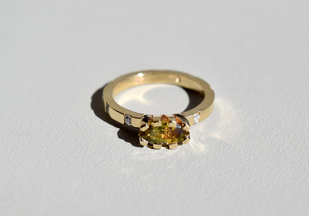 SUNRISE RING GOLD