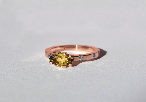 SUNRISE RING ROSE