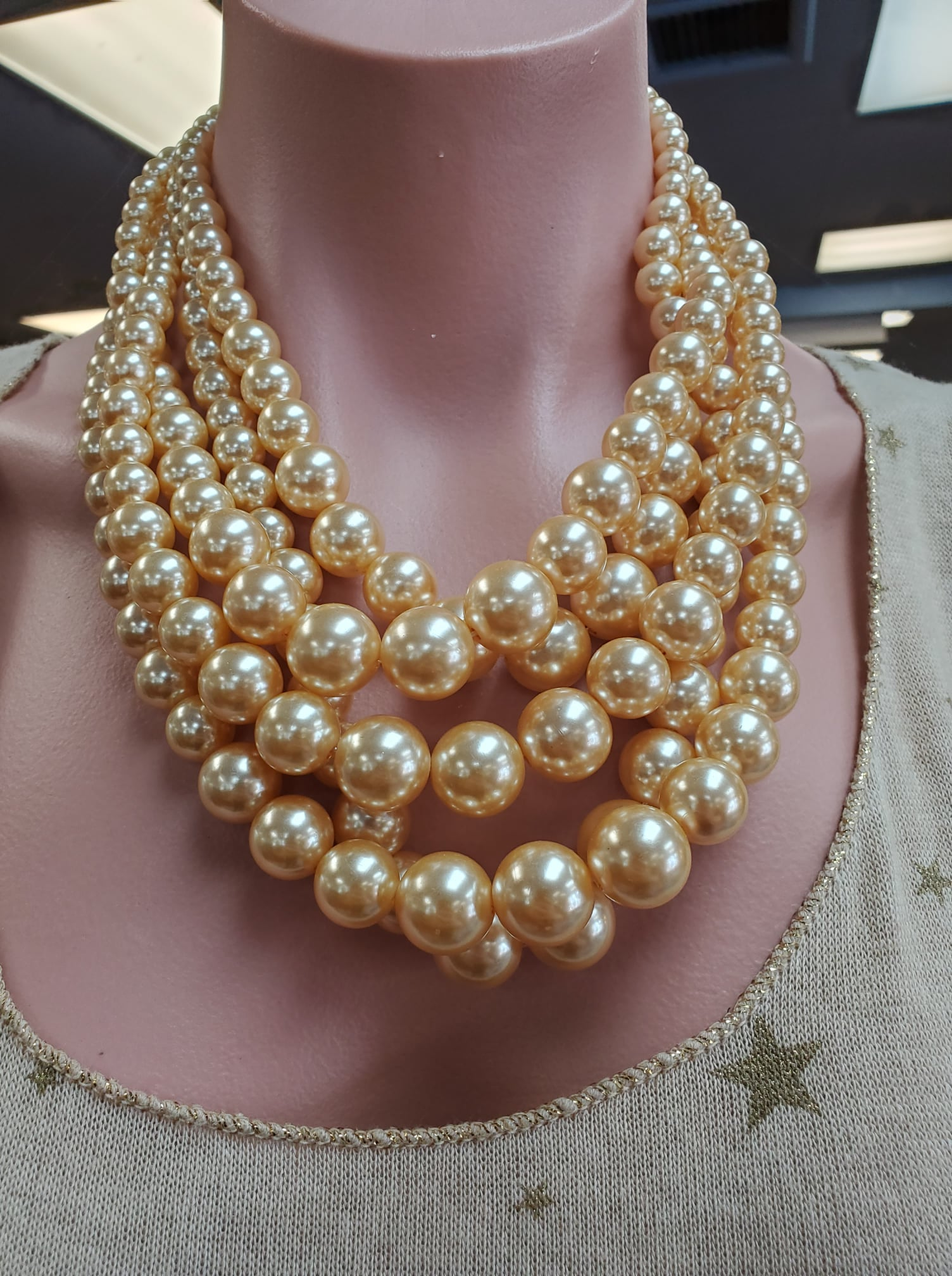 Iconic Blush Pearl Necklace