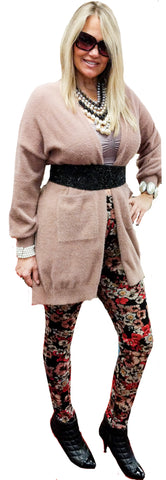 Plush Blush Sweater Coat