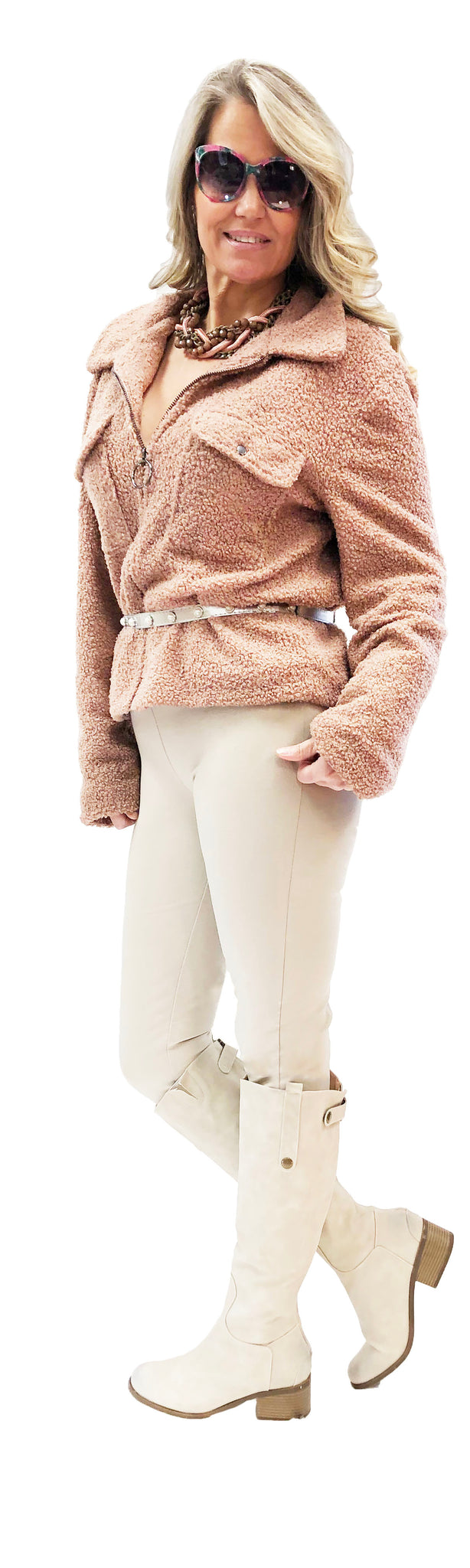 Winter White  Stretch Miracle Pant