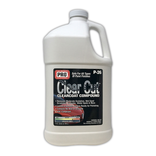 Clear Cut Clearcoat Compound