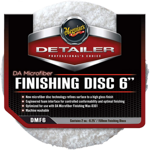 "Meguiars DA Microfiber Finishing Disc 6"" 2 Pack"