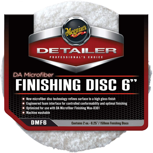 Meguiars DA Microfiber Finishing Disc 6