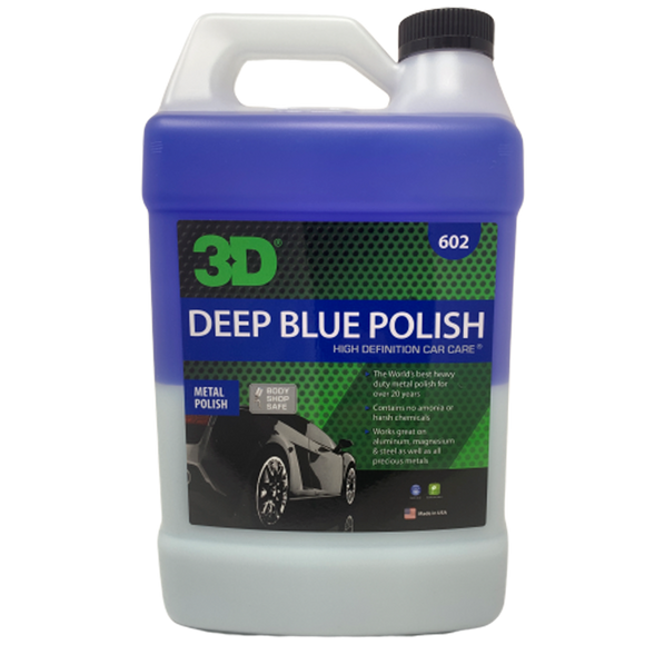 Deep Blue Metal Polish