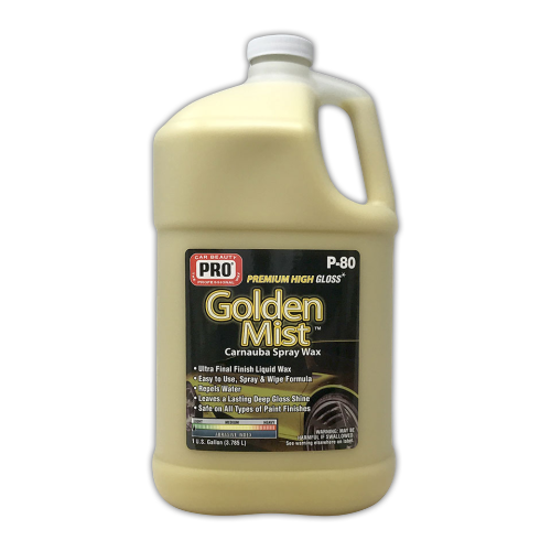 Golden Mist Carnauba Spray Wax