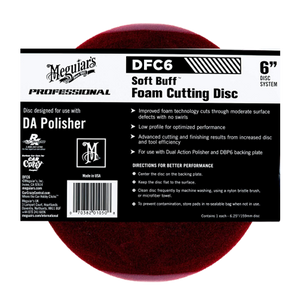 Meguiar's DFC6 Soft Buff Foam Cutting Disc