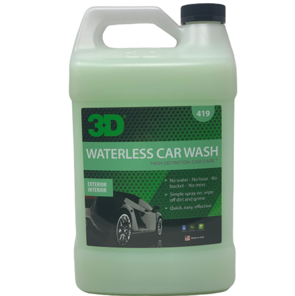 3D Waterless Car Wash