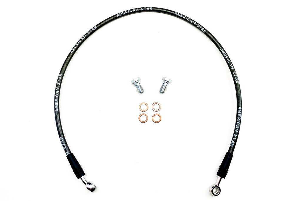 ATV Racing Brake Lines +2 up 1 Long Travel Travel for Arctic Cat DVX400, Kawasaki KFX400, Suzuki LTZ400
