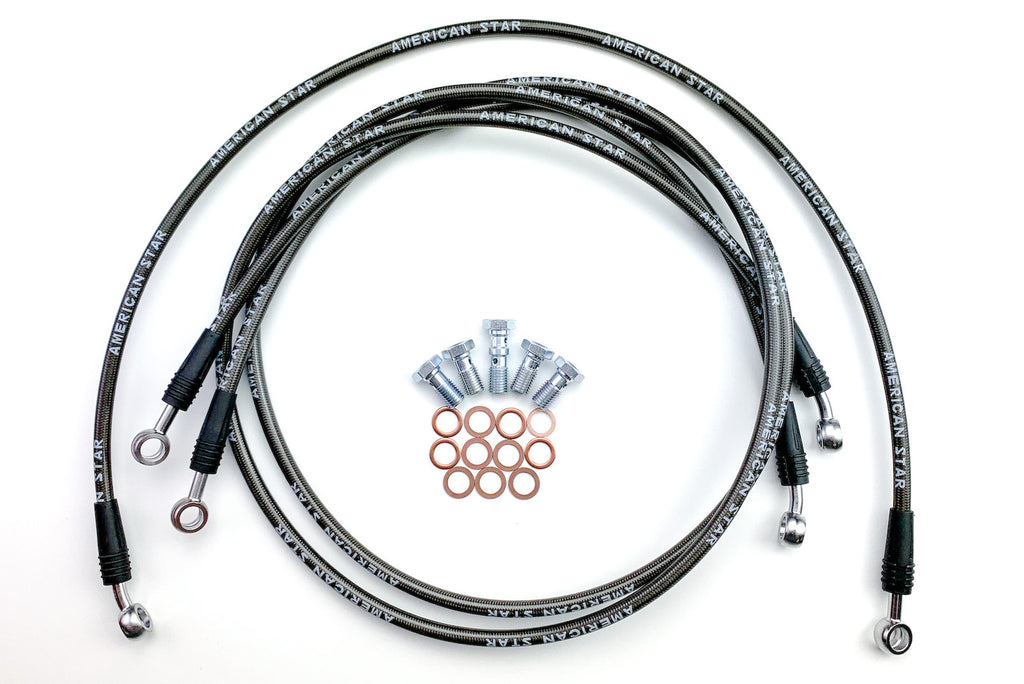 ATV Racing Brake Lines for Kawasaki KFX250