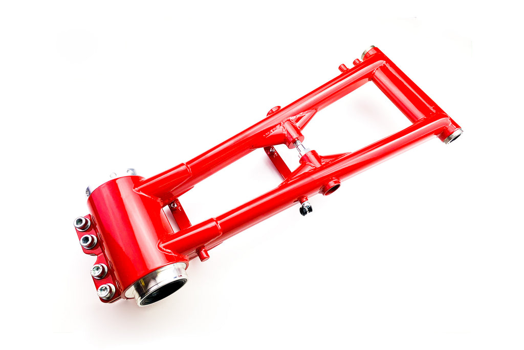 ATV Racing Rear Swing Arm With Billet Aluminum Bearing Carrier for Suzuki LT-Z400