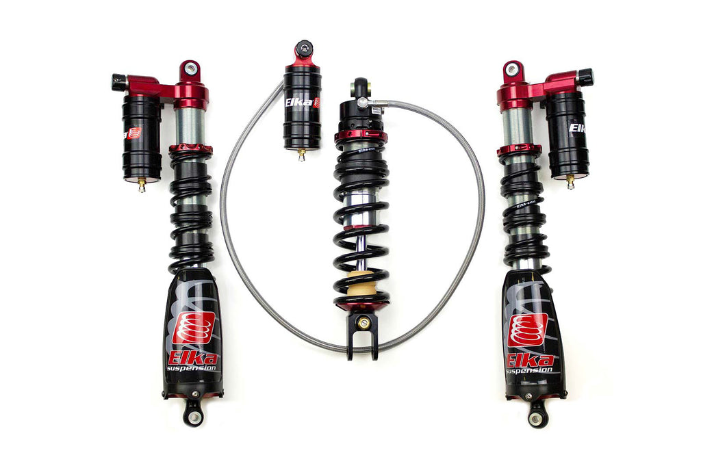 ATV Front and Rear Kit Elka Shocks for Suzuki LT500