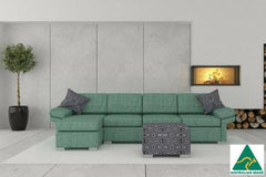 Wembley 3.5 + Chaise ( Jade )