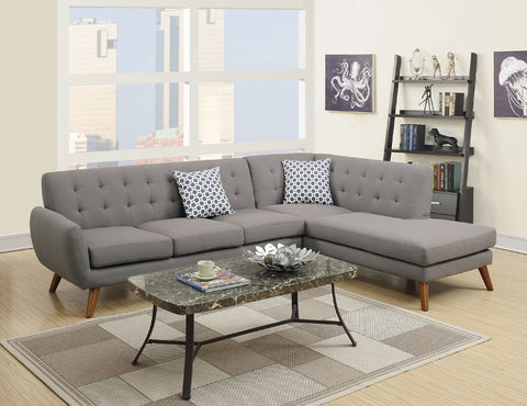 Barclay 3 Seater + Chaise ( Light Sand )