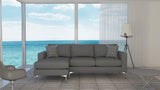 Bentley 2.5 Seater Chaise Lounge (Charcoal)
