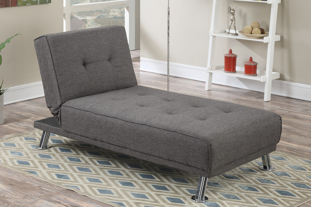 Manhattan Sofa Bed with Chaise Ash