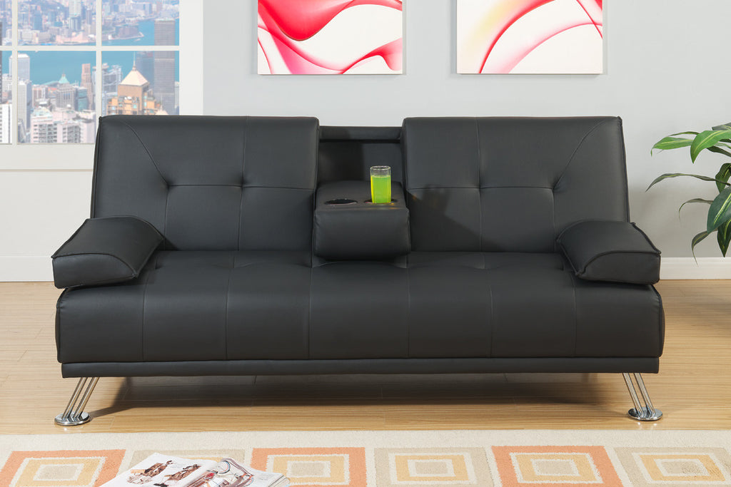 Manhattan Sofa Bed (Black)