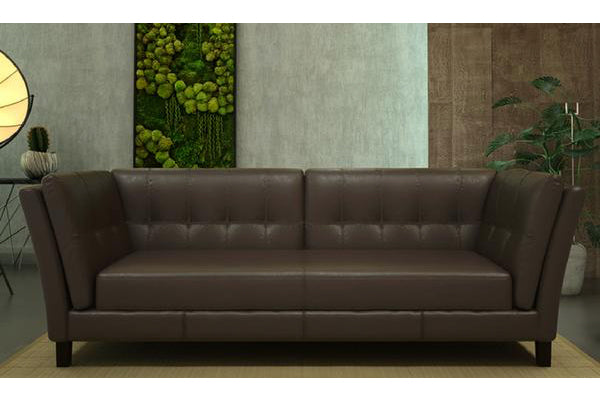 Axton 3 Seater ( Classic Brown )