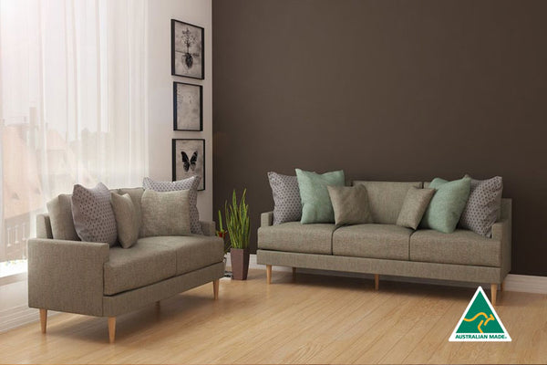 Adelyn 2 and 3 Seater - Warm Grey