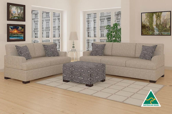Bahama Sofa & Loveseat (Straw)