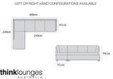 Black Lounge | Chaise Lounge | Kingston Black