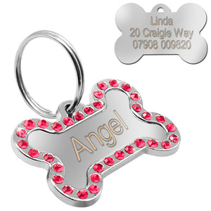 Personalized Dog Bone ID Tag - Urban Pets