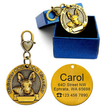 Load image into Gallery viewer, Personalized Dog type ID Tag - Urban Pets