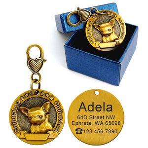 Personalized Dog type ID Tag - Urban Pets