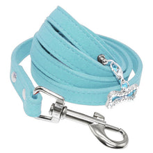 Load image into Gallery viewer, Suede Leather Dog Leash - Urban Pets