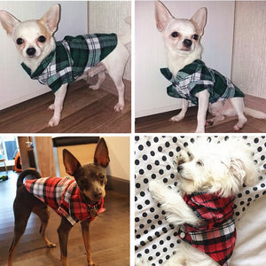 Dog Plaid Shirt - Urban Pets