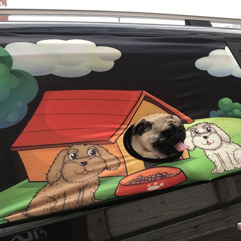 Dog Car Window Shield - Urban Pets