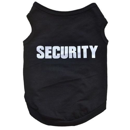 Security dog tee - Urban Pets