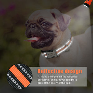 Reflective Personalized Dog Collar - Urban Pets