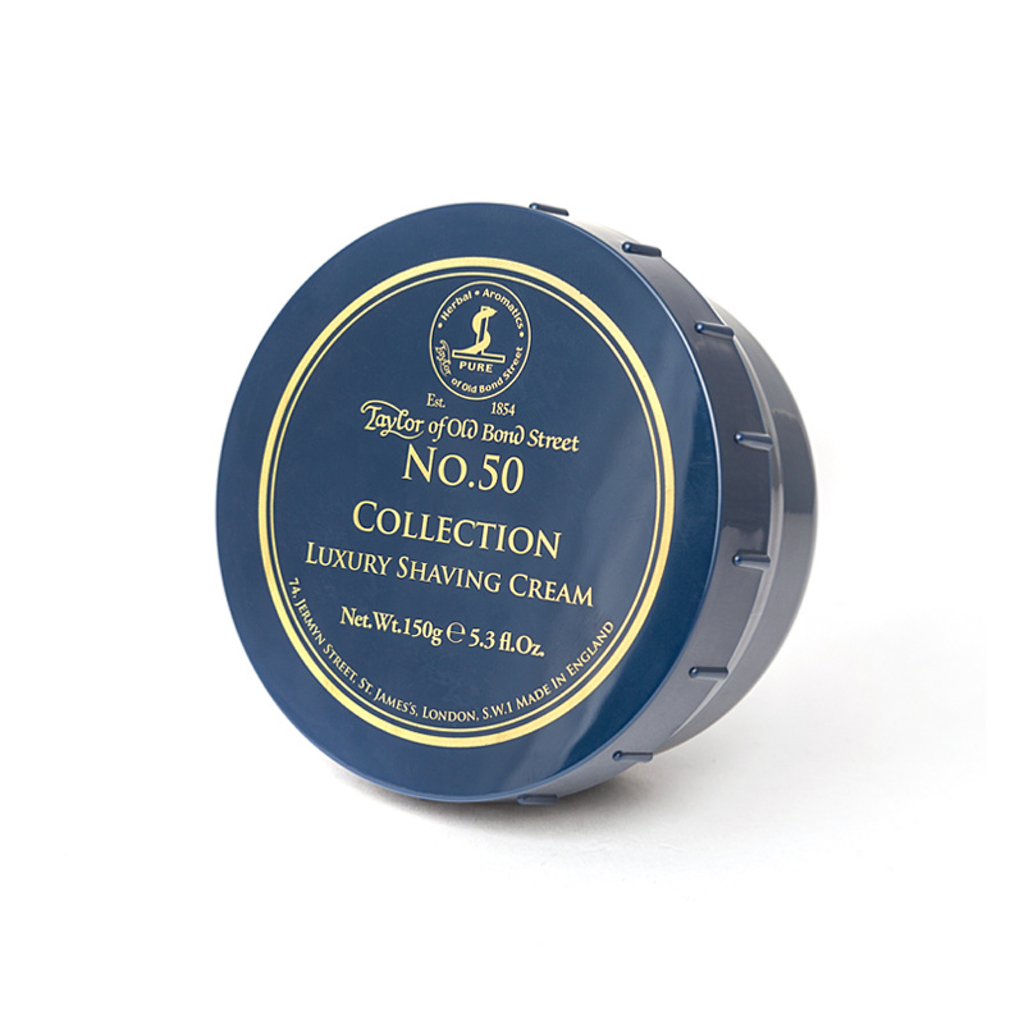 Shave Cream, Taylor Of Old Bond Street, No. 50 Collection Shaving Cream Bowl 150g - The Shaving Co USA