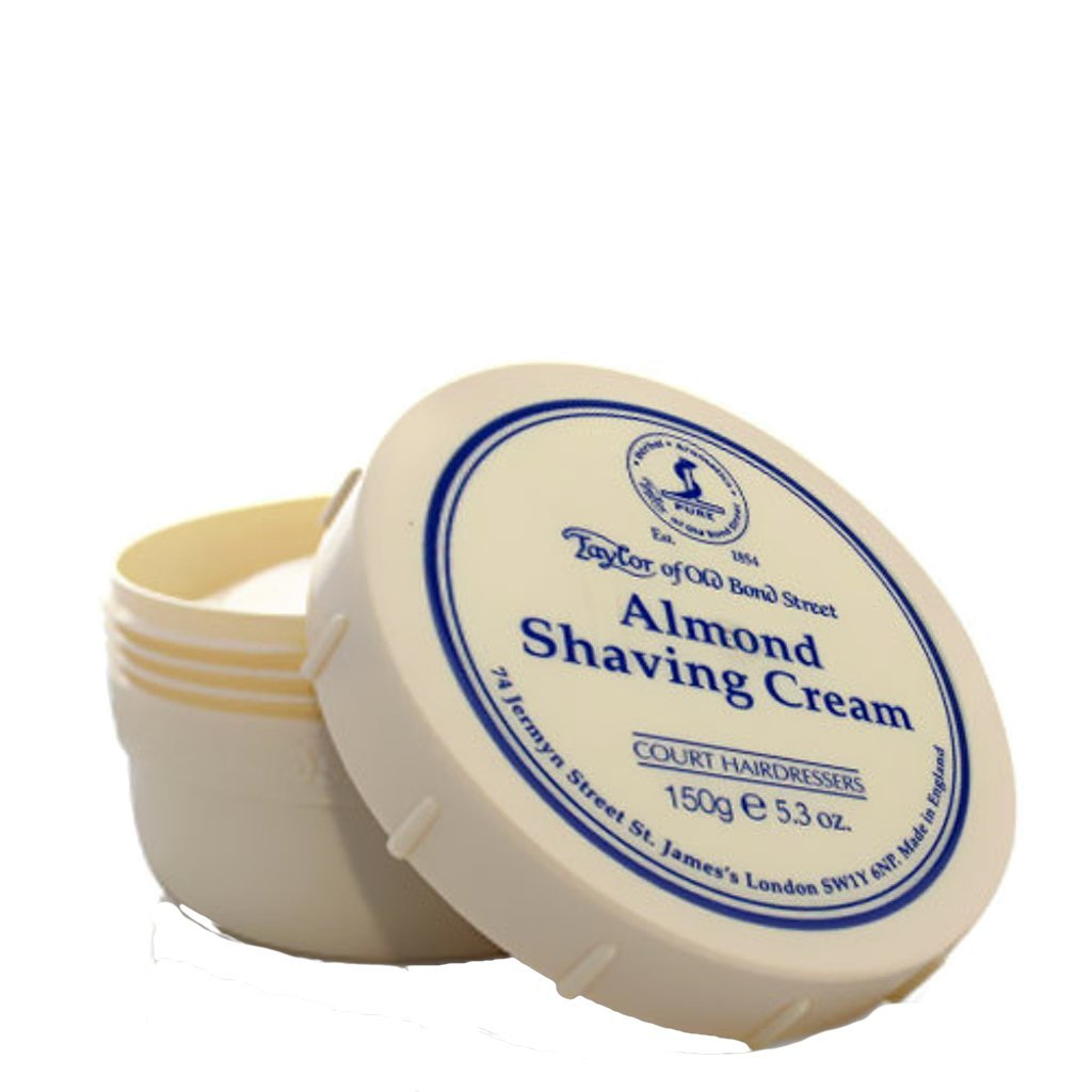 Almond Shaving Cream Bowl 150g - BUYBARBER.COM