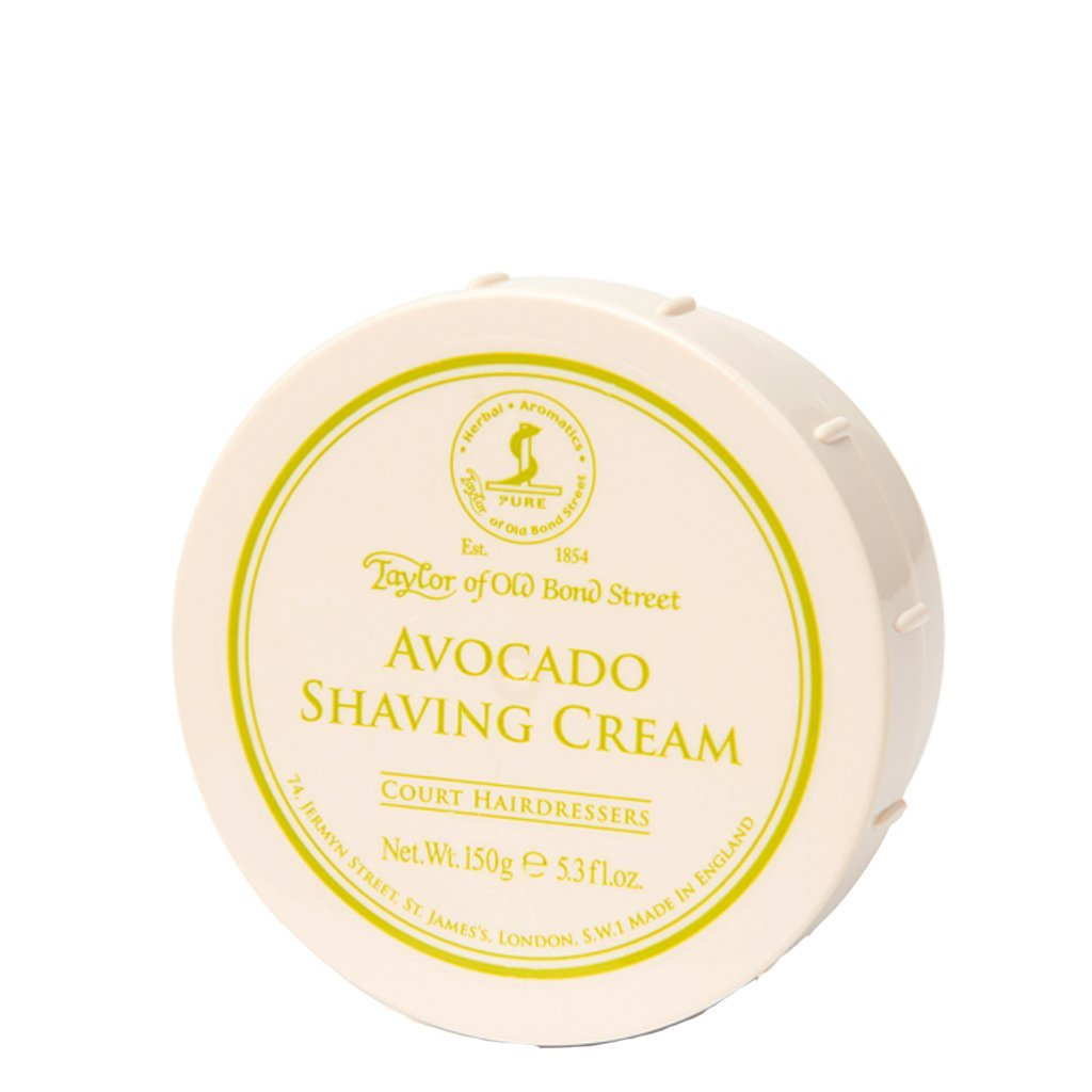 Avocado Shaving Cream Bowl 150g - BUYBARBER.COM
