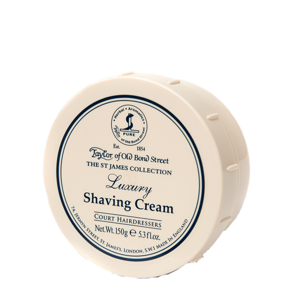 St. James Shaving Cream Bowl 150g - BUYBARBER.COM