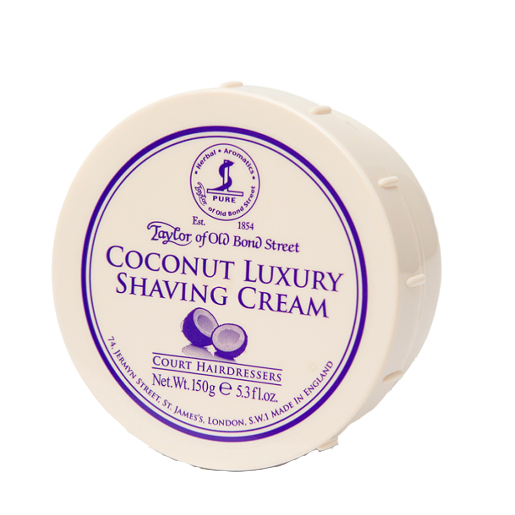 Coconut Shaving Cream Bowl 150g - BUYBARBER.COM