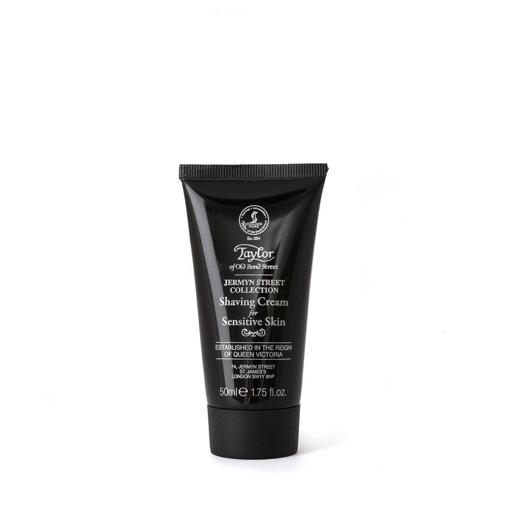 Jermyn Street Luxury Shaving Cream Tube 50ml - BUYBARBER.COM