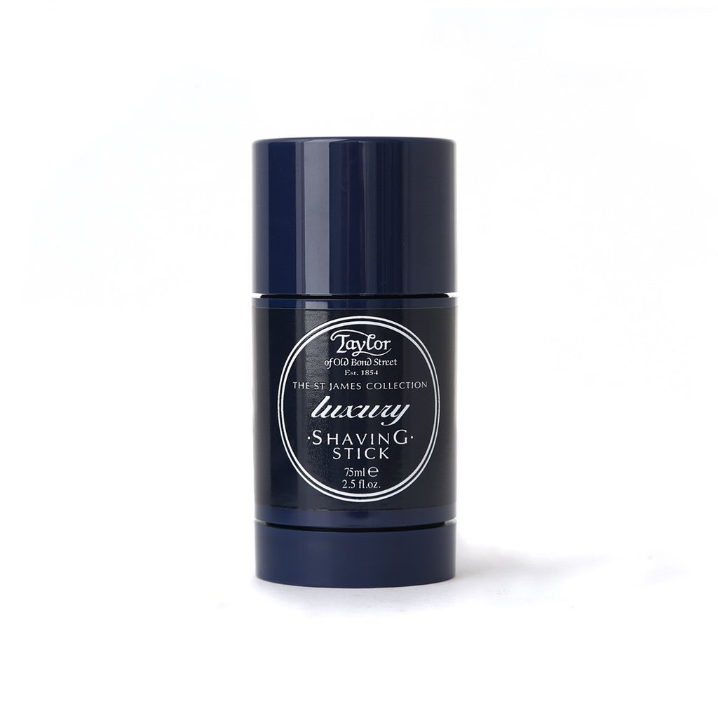 St James Shaving Stick 75ml - BUYBARBER.COM