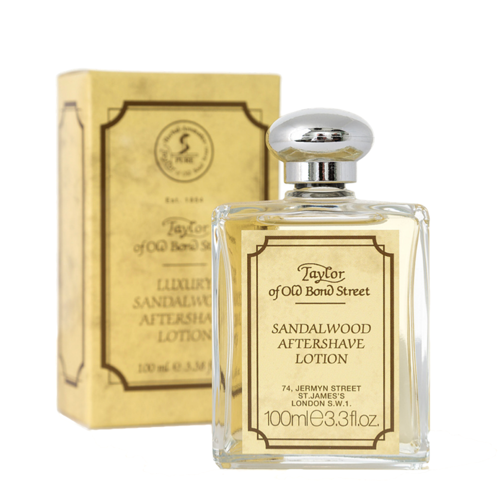 Sandalwood Luxury Aftershave Lotion 100ml - BUYBARBER.COM