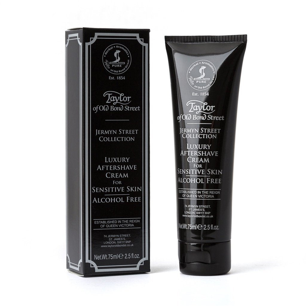 Jermyn Street Collection Aftershave Cream for Sensitive Skin - BUYBARBER.COM
